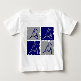Wearwolf Tribal wolf by 4 logo Baby T-Shirt