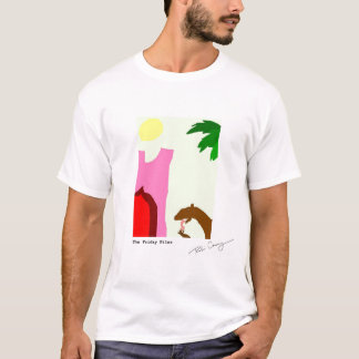 Weasel Eating Shellfish in Morocco T-Shirt