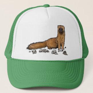 Weasel on a hat! trucker hat