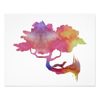 Weasel on a tree photo print