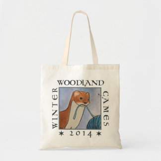 weasel wip tote for the winter woodland games 2014