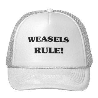 Weasels Rule Trucker Hat