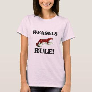 WEASELS Rule! T-Shirt