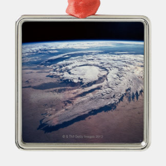 Weather Above Earth Christmas Ornament