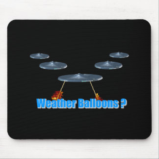 Weather Balloons ? Mouse Pad
