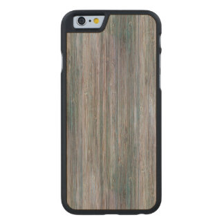 Weather-beaten Bamboo Look Carved® Maple iPhone 6 Slim Case