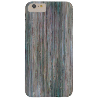 Weather-beaten Bamboo Wood Grain Look Barely There iPhone 6 Plus Case