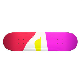 Weather Changes As the Sun Meditates 18.1 Cm Old School Skateboard Deck