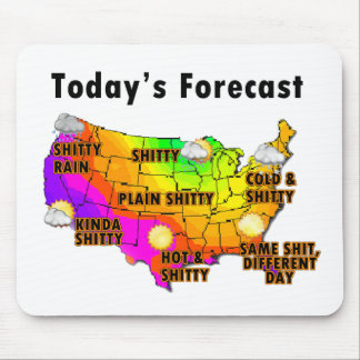 Weather Forecast Mouse Mat