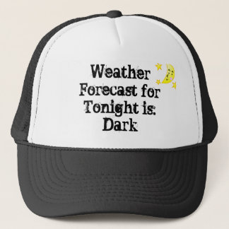 Weather Forecast Trucker Hat