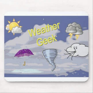 Weather Geek Mousepad