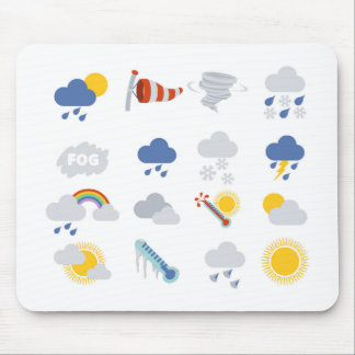 Weather Icons Mouse Mat