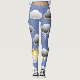 Weather leggings