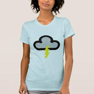 Weather Lightning Flash Symbol T-Shirt
