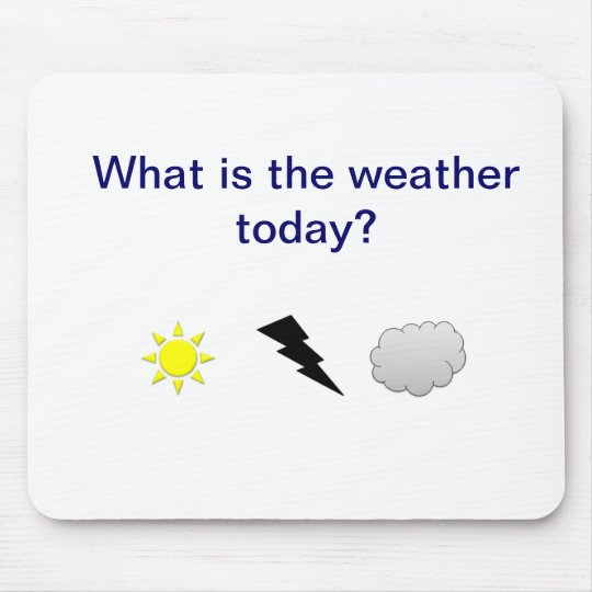 Weather Mouse Mat