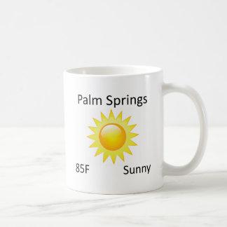weather Palm Springs Coffee Mug
