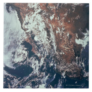 Weather Patterns over Earth Tile