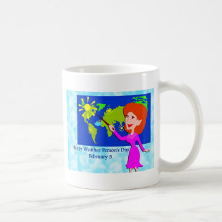 Weather Person s Day February 5 Mug