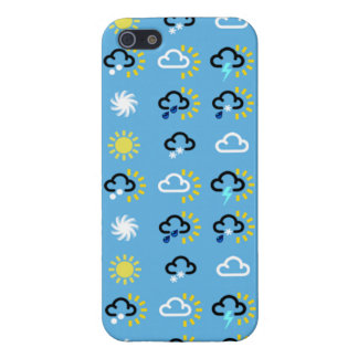 Weather symbols case for the iPhone 5