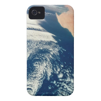 Weather Systems Above Earth 2 iPhone 4 Case