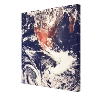 Weather Systems Above Earth 3 Gallery Wrap Canvas