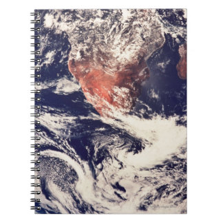 Weather Systems Above Earth 3 Spiral Notebook