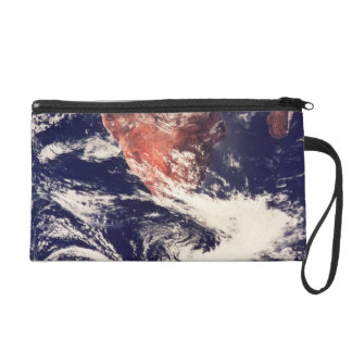 Weather Systems Above Earth 3 Wristlet