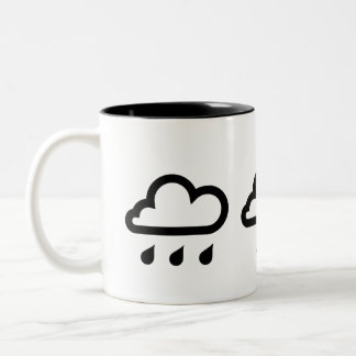 'Weather Systems' Pictogram Mug