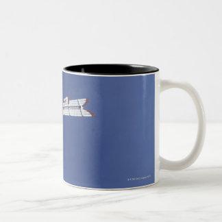 Weather vane and water tank, San Antonio, Texas, Two-Tone Coffee Mug