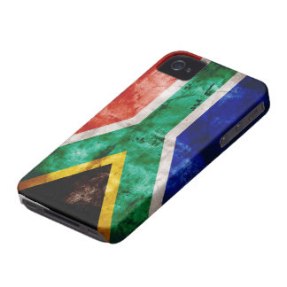 Weatherd South Africa Flag Case-Mate iPhone 4 Case