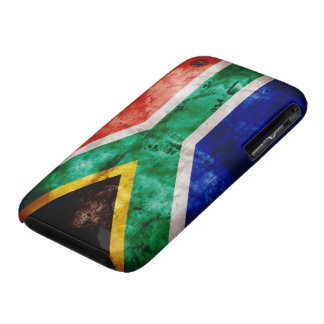 Weatherd South Africa Flag iPhone 3 Cover