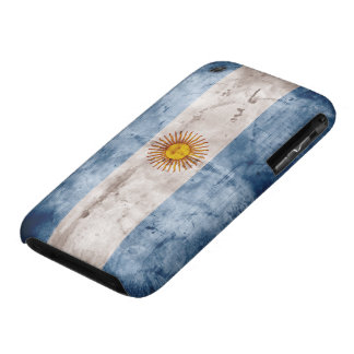 Weathered Argentina Flag iPhone 3 Cover
