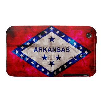 Weathered Arkansas Flag Case-Mate iPhone 3 Case