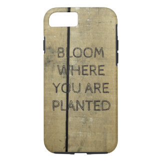 Weathered Barn Wood Inspired Reclaimed Plank iPhone 8/7 Case