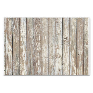 Weathered Barn Wood Tissue Paper