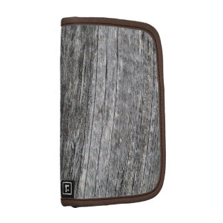 Weathered barn wood with nail folio planner