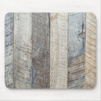 Weathered Boards Wood Plank Background Texture Mouse Mat