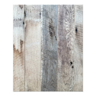 Weathered Boards Wood Plank Background Texture Photo Print