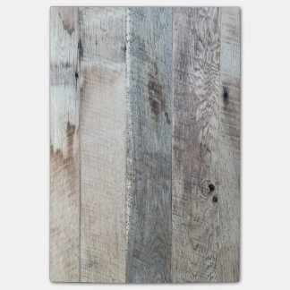Weathered Boards Wood Plank Background Texture Post-it Notes