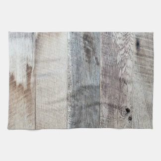 Weathered Boards Wood Plank Background Texture Tea Towel
