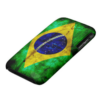 Weathered Brazil Flag Case-Mate iPhone 3 Case