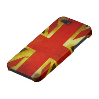 Weathered British Flag Covers For iPhone 5