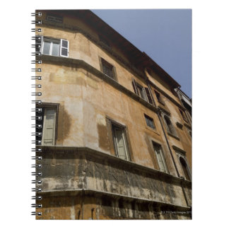 Weathered buildings, Rome, Italy 2 Notebook