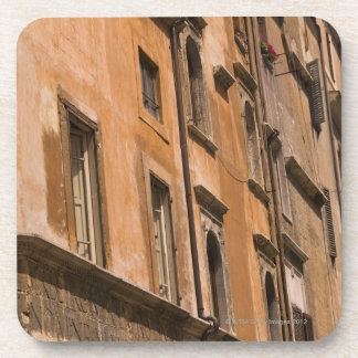 Weathered buildings, Rome, Italy 3 Coaster