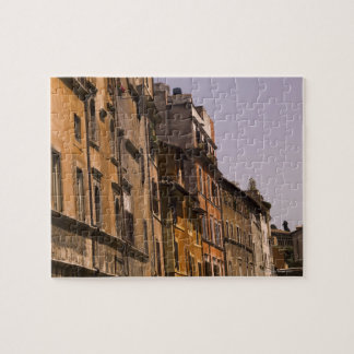 Weathered buildings, Rome, Italy Jigsaw Puzzle