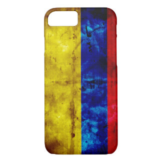 Weathered Colombia Flag iPhone 7 Case