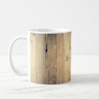 Weathered Distressed Wood Photo Coffee Mug
