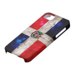 Weathered Dominican Republic Flag iPhone 5 Cover