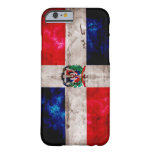 Weathered Dominican Republic Flag iPhone 6 Case