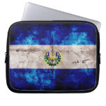 Weathered El Salvador Flag Computer Sleeves
